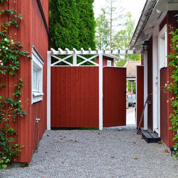 SOLLENTUNA STOCKHOLM klassisk trädgård med varm och enkel känsla