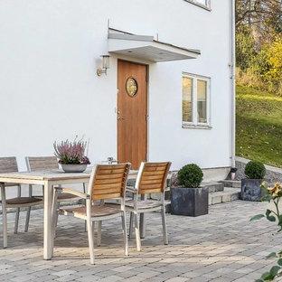 Foto di un patio o portico nordico