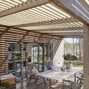 Inspiration for a scandinavian patio in Stockholm.