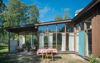 Houzz Tour: Kalifornien i Hudiksvall med Greta Grossmans villa