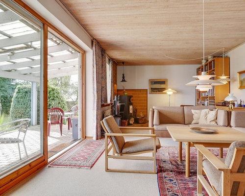 v randas scandinaves avec un po le bois photos et id es d co de v randas. Black Bedroom Furniture Sets. Home Design Ideas