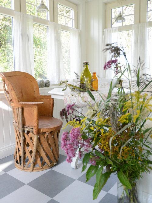 Foto e idee per verande veranda in campagna g teborg for Idee di veranda laterale