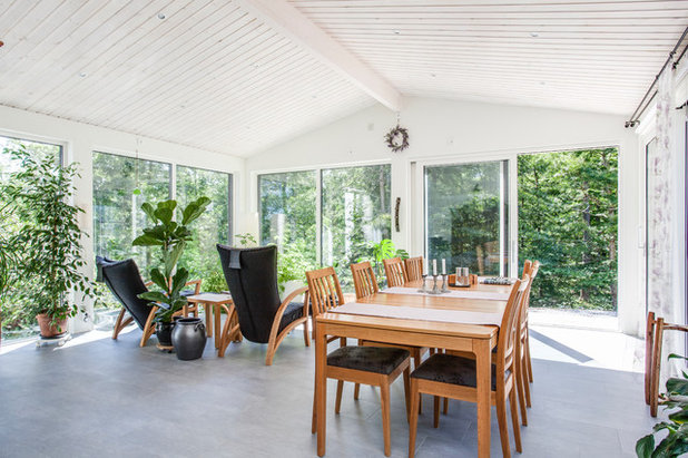 Scandinavian Sunroom by Schüco Sverige