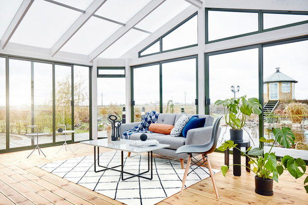 Scandinavian Sunroom by Santex