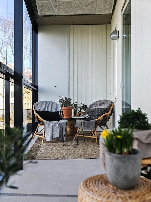 skandinavischer wintergarten mit betonboden bilder ideen. Black Bedroom Furniture Sets. Home Design Ideas