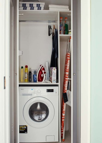 Contemporary Laundry Room by houseology