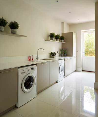 Contemporary Utility Room by Nicholas Anthony