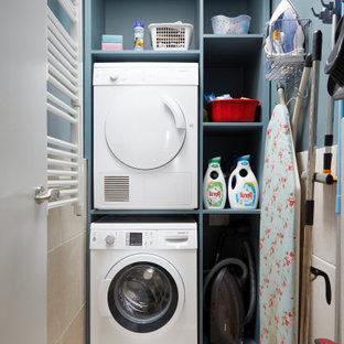 Idéer för små funkis linjära små tvättstugor