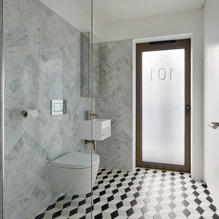 This is an example of a modern utility room in London.
