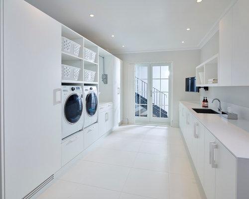 saveemail bright modern laundry room
