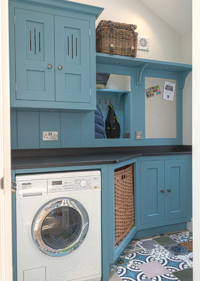 Traditional Utility Room by Lewis Alderson & Co.