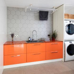 Exempel på en modern tvättstuga