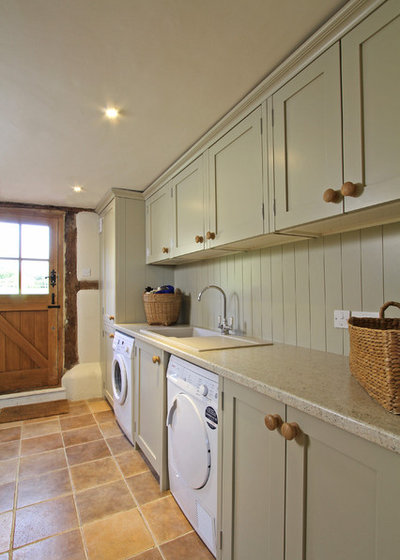 Country Utility Room by Beau-Port Kitchens & Interiors