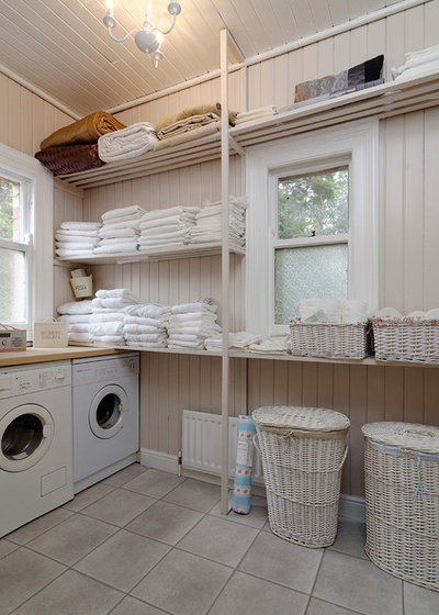 Traditional Utility Room by Gary Quigg Photography