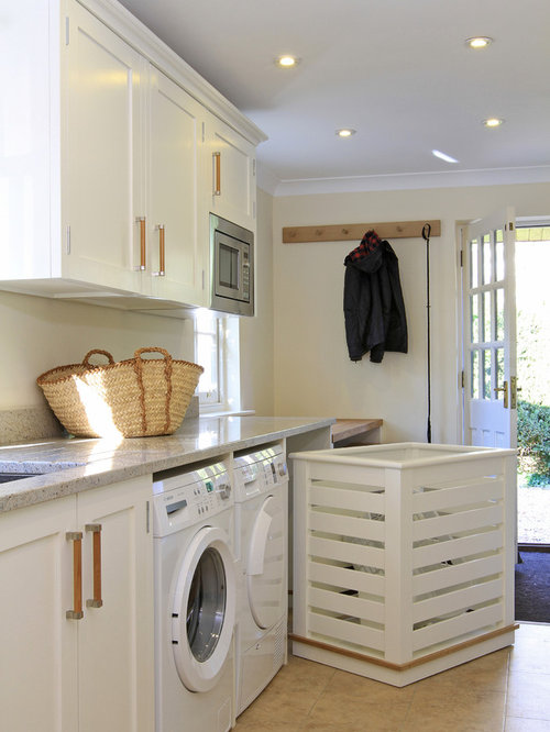 Pull Out Laundry Basket Houzz