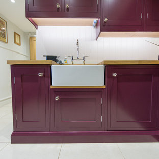 Inspiration for a transitional laundry room in Hertfordshire.