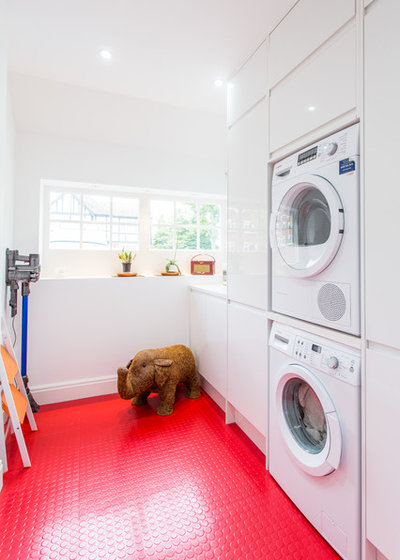 Contemporary Laundry Room by Architect Your Home