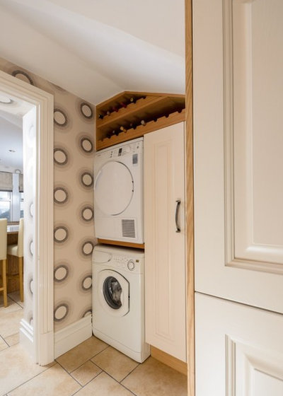 Traditional Utility Room by Sussex Kitchen and Bedrooms