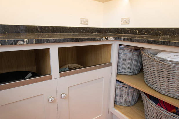 Traditional Utility Room by Dovetail Workers in Wood ltd
