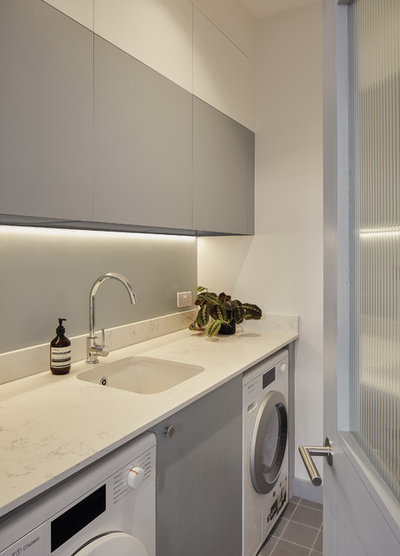 Scandinavian Utility Room by REES Architects