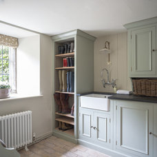 Farmhouse Laundry Room by Sims Hilditch