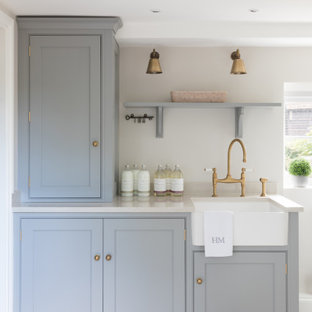 Photo of a traditional utility room in Hertfordshire.
