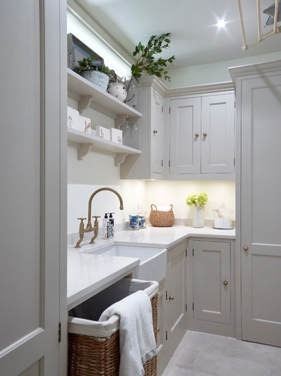 Traditional Utility Room by Higham Furniture
