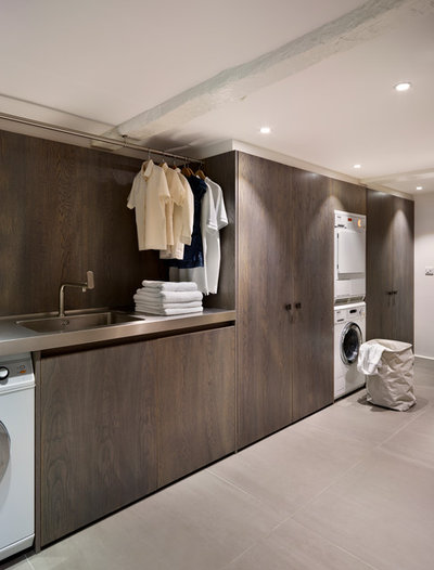 Contemporary Utility Room by Teddy Edwards