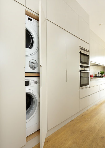 Contemporary Utility Room by Cue & Co of London