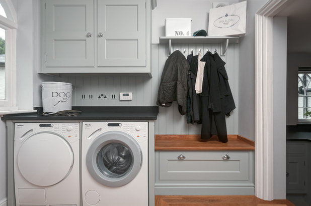 Traditional Laundry Room by lewisalderson.com