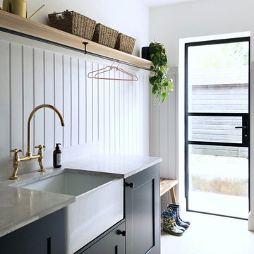 Utility and mud room