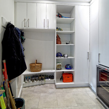 Utility room remodel