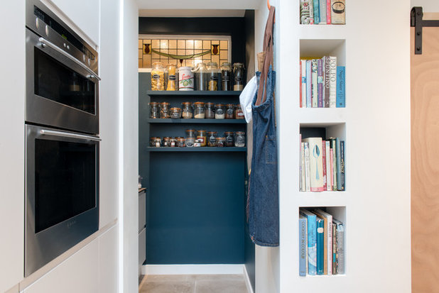 Contemporary Utility Room by In Ex Design