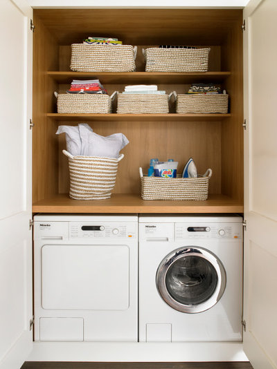 Traditional Laundry Room by Brayer Design