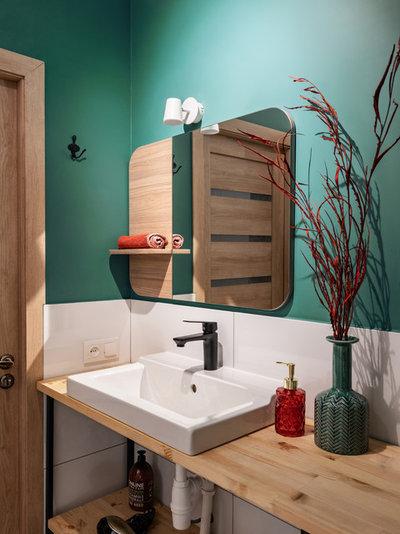 Современный Ванная комната by Алла Сеничева