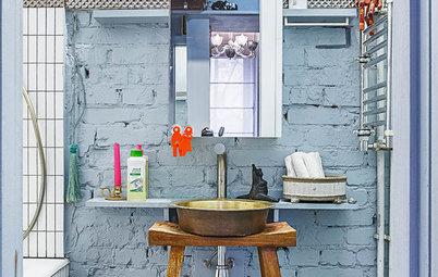 Come Si Chiama La Vasca Da Bagno In Inglese : 9 idee per rendere un piccolo bagno più funzionale e bello