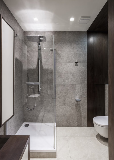 Contemporary Bathroom by AB Architects
