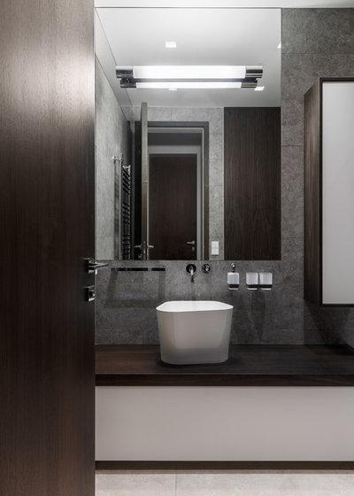 Современный Ванная комната by AB Architects