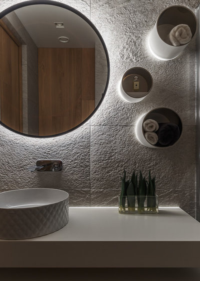 Contemporary Bathroom by DesignRocks