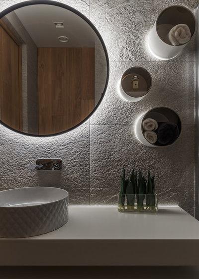 Contemporain Salle de Bain by DesignRocks