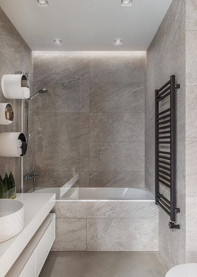 Contemporary Bathroom by Design Rocks