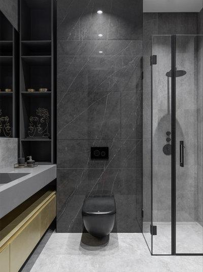 Современный Ванная комната by Design Rocks