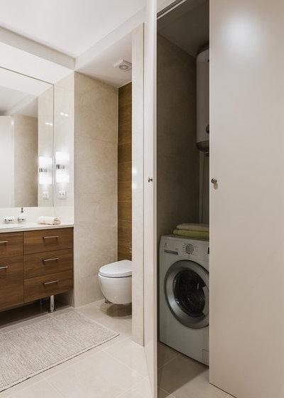 Современный Ванная комната by Студия дизайна Елены Илюхиной