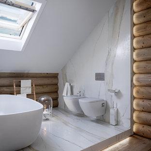 Baño y madera