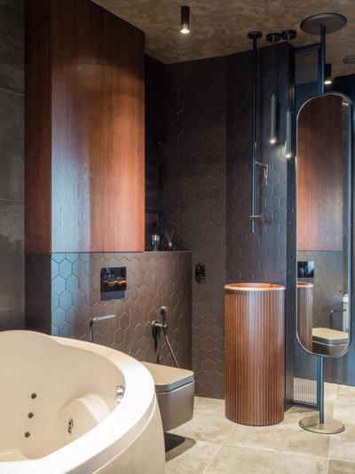 Современный Ванная комната by Евгений Аполонов
