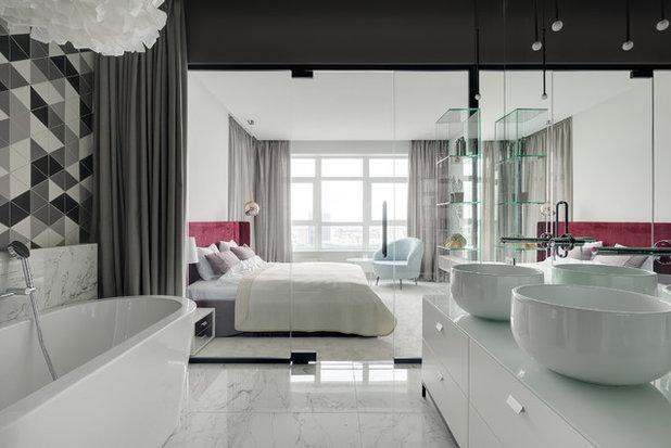 Современная классика Ванная комната by Nika Vorotyntseva design & architecture bureau