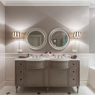 Стильный дизайн: ванная комната в классическом стиле - последний тренд