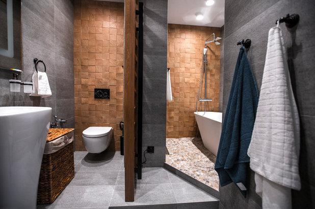 Современный Ванная комната by Студия дизайна Four rooms