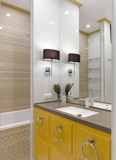 コンテンポラリー 浴室 by TS Design | Тарас Безруков и Стас Самкович