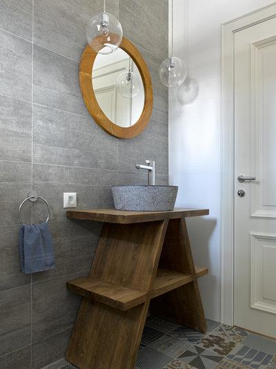 Современный Ванная комната by AlexInteriorGroup